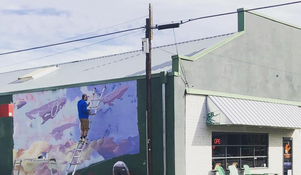 Prineville Mural